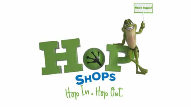Hop Shops - Hop in. Hop out.